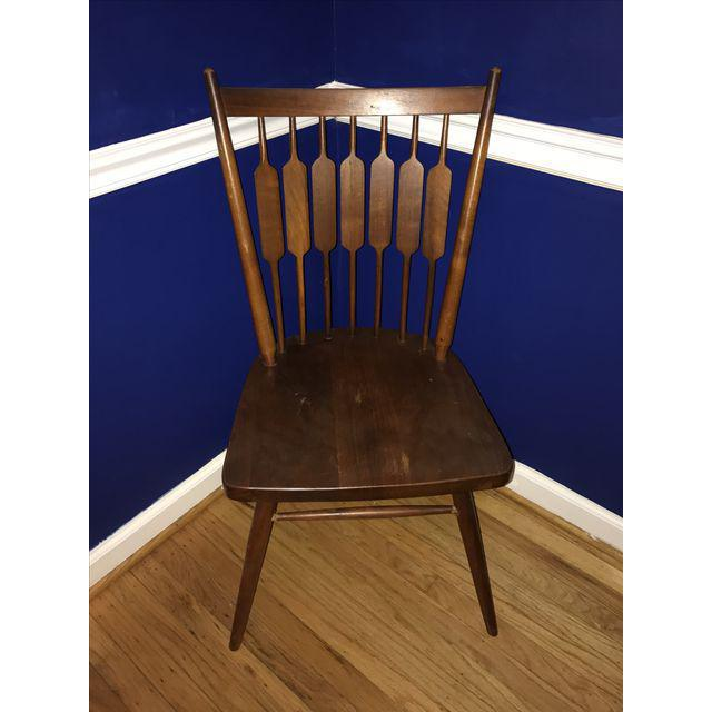 Wood Drexel Declaration Kipp Stewart Dining Chairs - Set of 6 For Sale - Image 7 of 7