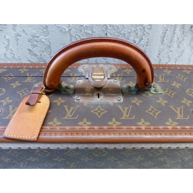 Louis Vuitton Hard Case Suitcase, 1950s For Sale - Image 5 of 11