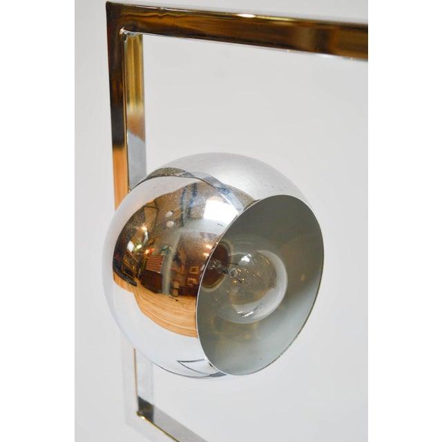 Mid-Century Modern Chrome Eyeball Lamp - Image 6 of 8