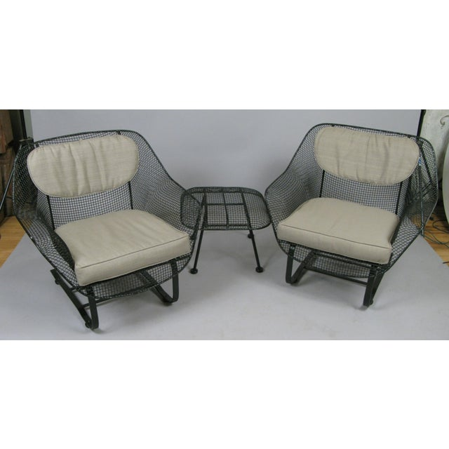 A pair of classic vintage 1950s 'Sculptura' lounge chairs by Russell Woodard. The most comfortable and desirable of...