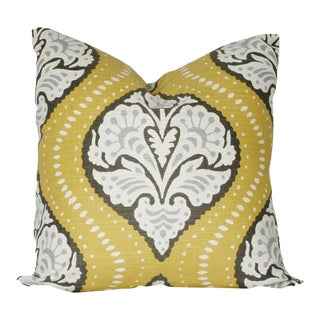 Custom Robert Allen Kavalli Ogee Pillow Cover
