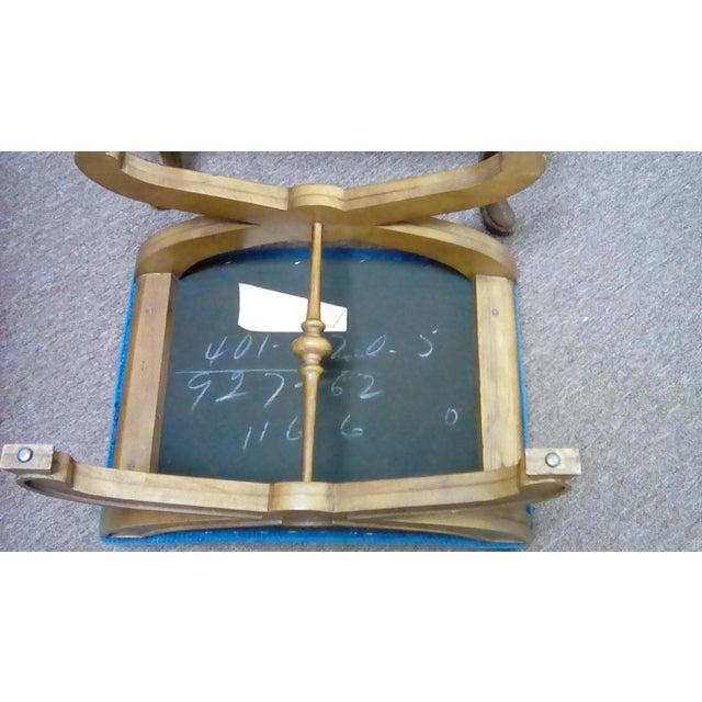 Jim Peed Esperanto Drexel Wingback Chair - Image 6 of 9