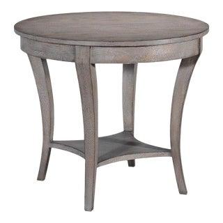 Ballard Side Table Tapered Legs Leg Greige Solid For Sale