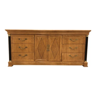 20th Century Empire Thomasville Grand Classics Triple Dresser For Sale
