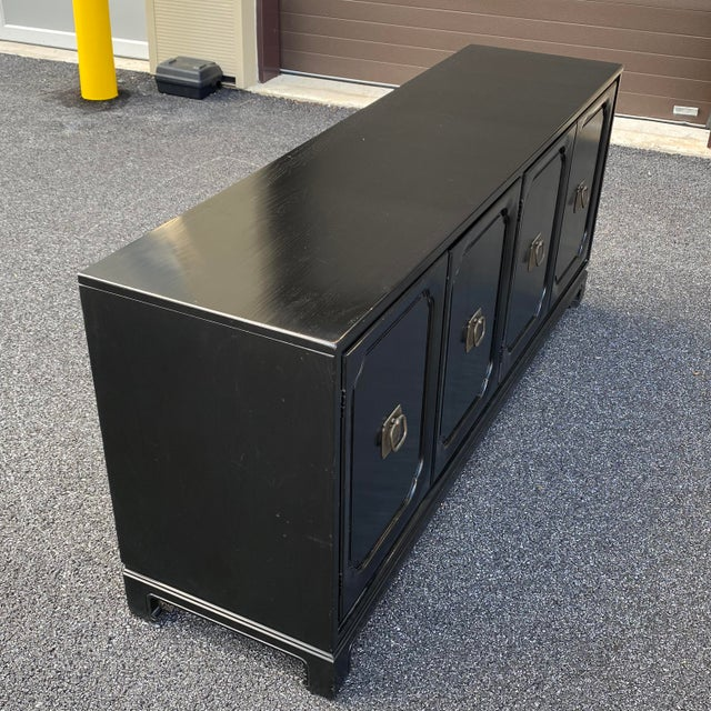 Davis Cabinet Company Asian Modern Credenza For Sale - Image 10 of 13
