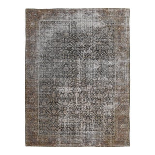 Antique Persian Mahal Rug-10′5″ × 13′7″ For Sale