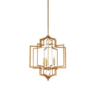 Wildwood Dover Chandelier in Gold For Sale
