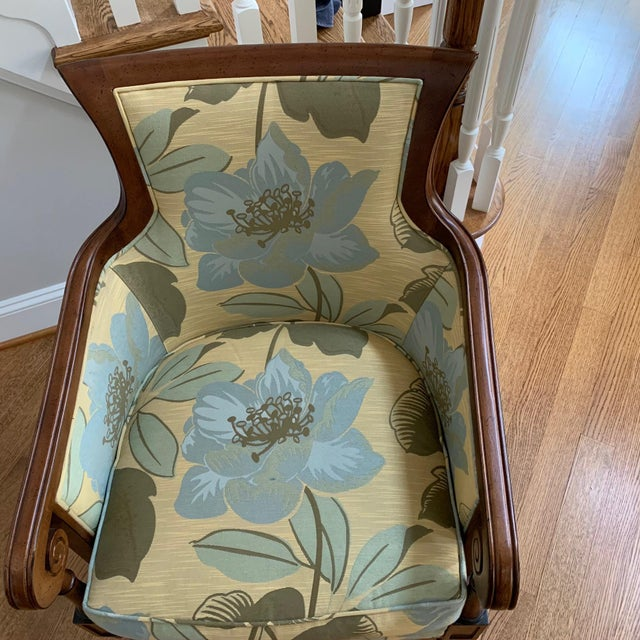 Lexington Furniture Tommy Bahama Style Upholstered Side Chair For Sale - Image 4 of 6
