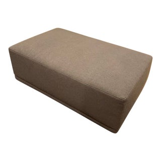 Eilersen Soft Ice Ottoman Footstool For Sale