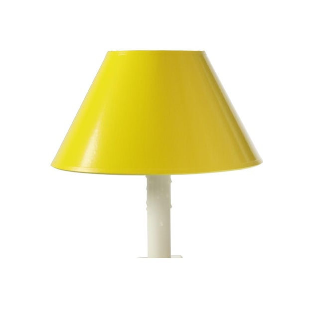 Mid 20th Century Porcelain Column Lamps - a Pair For Sale - Image 9 of 12