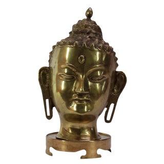 Decorative Brass Buddha Head
