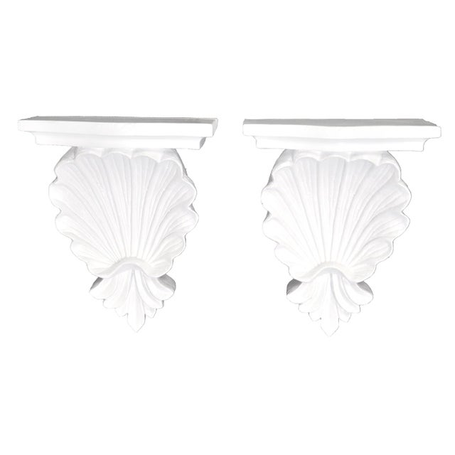 Shell Wall Shelves - a Pair For Sale - Image 5 of 5