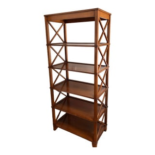 J. Alexander Art Deco Manhattan Bookcase Etagere For Sale