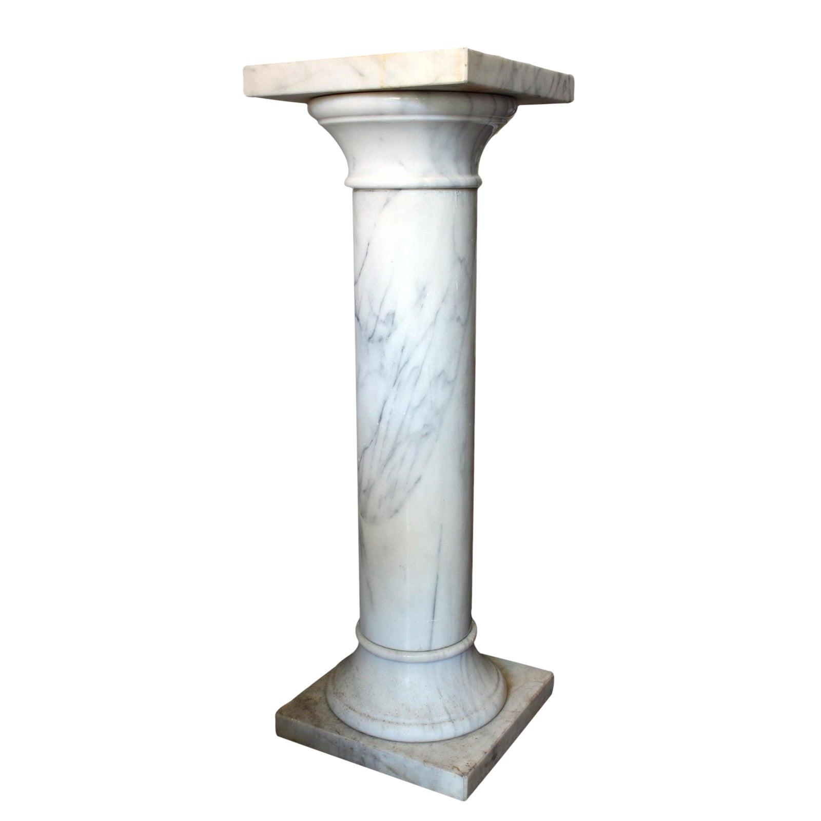 Marble Column Pedestal Chairish