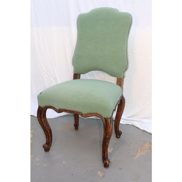 Lovely 18th C. Louis XV French Provincial Side Chair For Sale In San Diego - Image 6 of 7