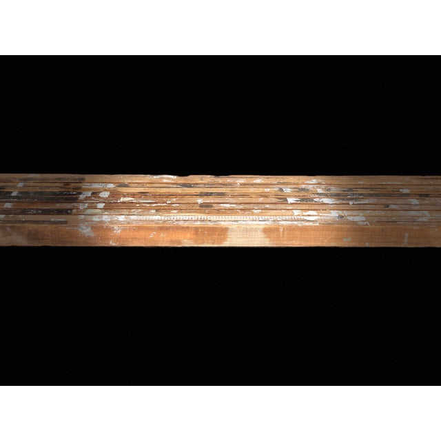 Antique Scaffolding Table For Sale - Image 10 of 11