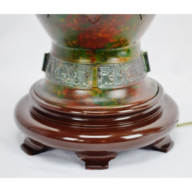 Marbro Mid-Century Egyptian Design Table Lamp - Image 8 of 11