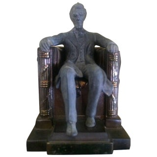 Lincoln Monument Bookend For Sale