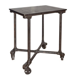 """20th Century Industrial """"Turtle"""" Table"""