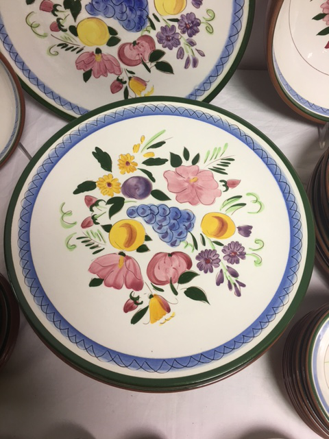 Stangl Fruit \u0026 Flowers Vintage Dinnerware - Image 7 ...  sc 1 st  Chairish & Stangl Fruit \u0026 Flowers Vintage Dinnerware | Chairish