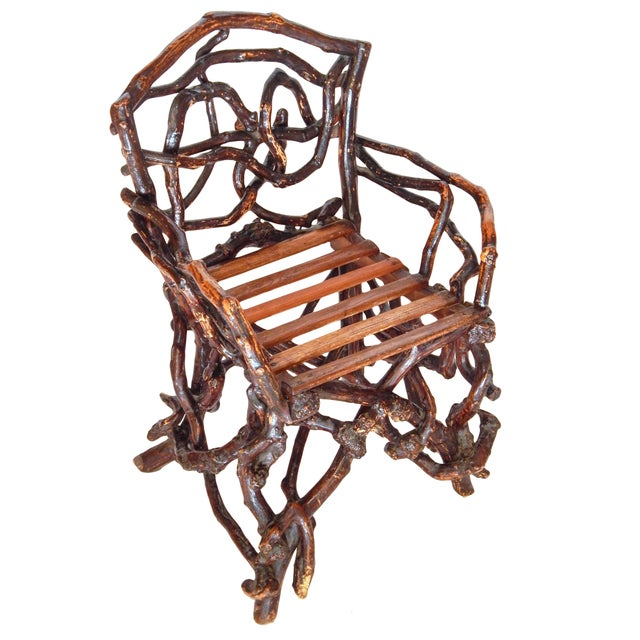 Twig Chair For Sale In New York - Image 6 of 10