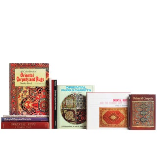 Oriental Rugs Books - S/10 For Sale