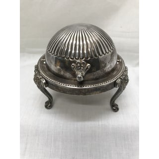 Antique English Domed Jam Pot Preview