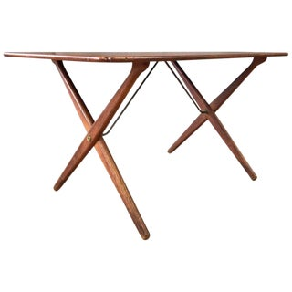 Hans J. Wegner for Andreas Tuck Model At-308 Teak Coffee Table For Sale