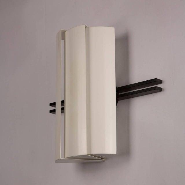 """Artemide Pair of """"Stria"""" Sconces by Ernesto Gismondi for Artemide For Sale - Image 4 of 10"""