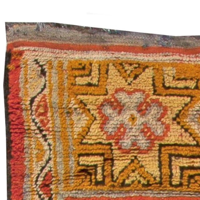 Islamic Vintage Moroccan Rug For Sale - Image 3 of 6