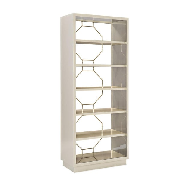 Wood Caracole Modern Going Up Display Cabinet For Sale - Image 7 of 7