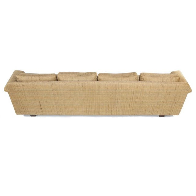 Modern FOUR-SEAT SOFA BY EDWARD WORMLEY FOR DUNBAR For Sale - Image 3 of 9