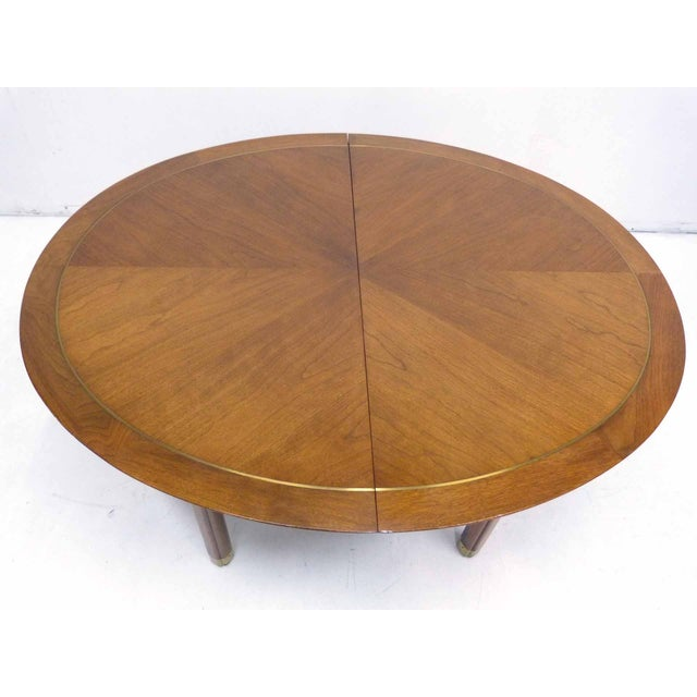 Baker Far East Round-to-Oval Dining Table - Image 4 of 10