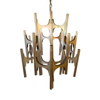 Gaetano Sciolari Designed Chandelier For Lightolier