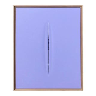 Purple Modern Art Painting by Tony Curry