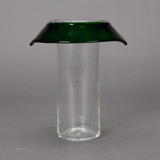 Flacio Poli for Seguso Vetri d'Arte Vase - Image 2 of 6