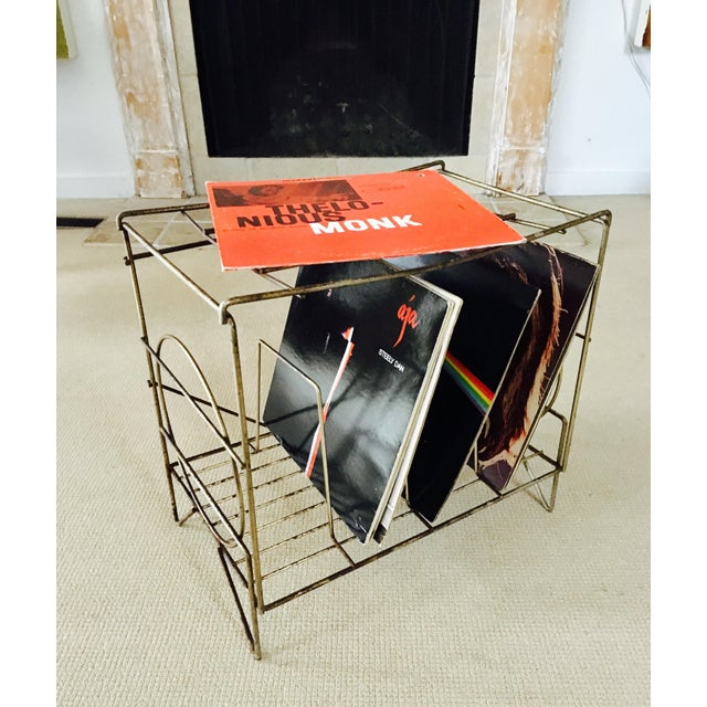 50's Metal LP Record Album Storage - Image 3 of 7