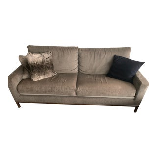 Custom Made Grey Couch For Sale