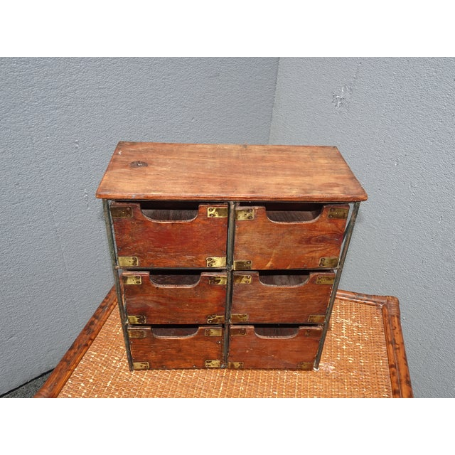 Unique Storage Drawers in Great Vintage Condition. Solid and Firm. Wear is usual for its age. Please see photos. Overall a...
