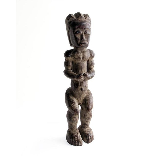 20th Century African Fang Sculpture of Male Figure For Sale In Houston - Image 6 of 6
