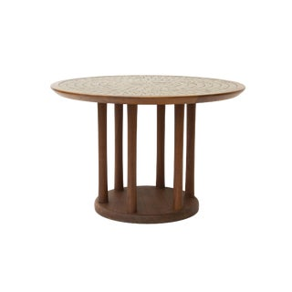 Round Tile Top Table by Gordon and Jane Martz for Marshall Studios
