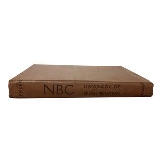 Vintage Book, NBC Handbook of Pronunciation