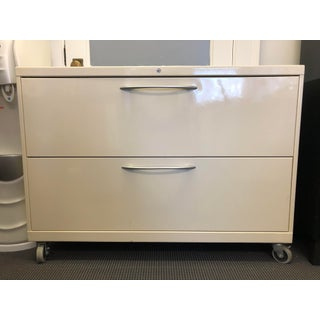 Steelcase Metal Two Drawer Lateral Filing Cabinet Preview