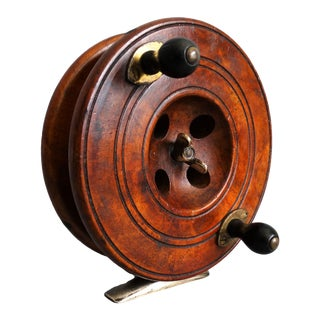 Early English Eton Sun Fishing Reel