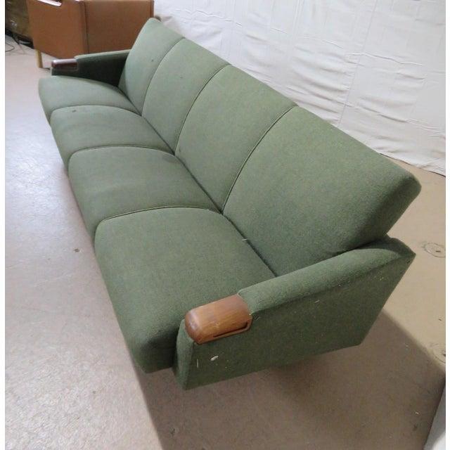 Mid-Century Modern Danish Sofa For Sale In Philadelphia - Image 6 of 8