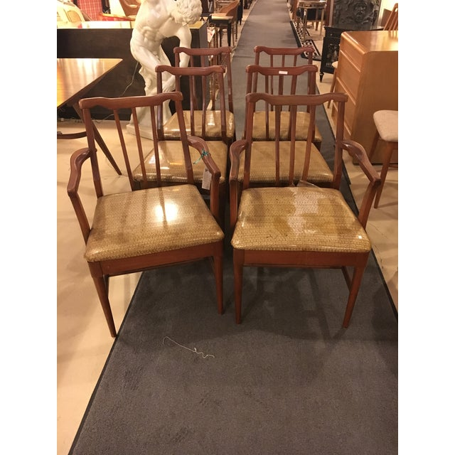 Mid-Century Modern Dining Chairs - Set of 6 - Image 2 of 9