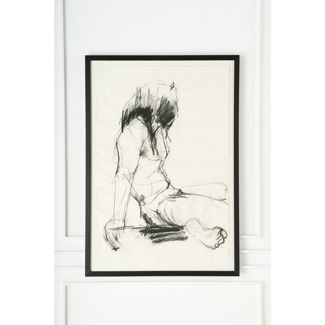Late 20th Century Female Figural Sketch From Amsterdam For Sale - Image 5 of 5