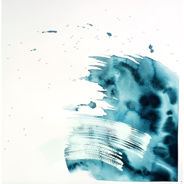 "Beth Winterburn Original Abstract - ""Crash"" - Image 1 of 4"