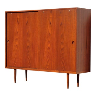 Danish Hans Wegner for Ry Møbler Teak Highboard