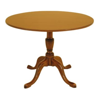 Kittinger Round Mahogany Dining Center Table